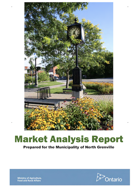 market analysis report cover