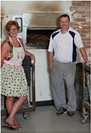 Richard Grahame & Debbie Willson Owners, Grahame's Bakery