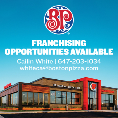 Franchising Opportunities Available - Boston Pizza