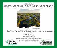North Grenville Business Breakfast and Awards Announced