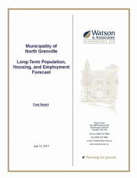 Long-Term Population, Housing & Employment Forecast - Final Report Released
